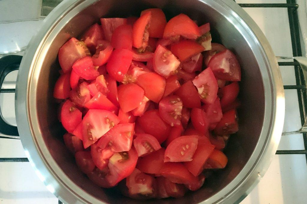 recept za paradižnikovo mezgo domača paradižnikova mezga
