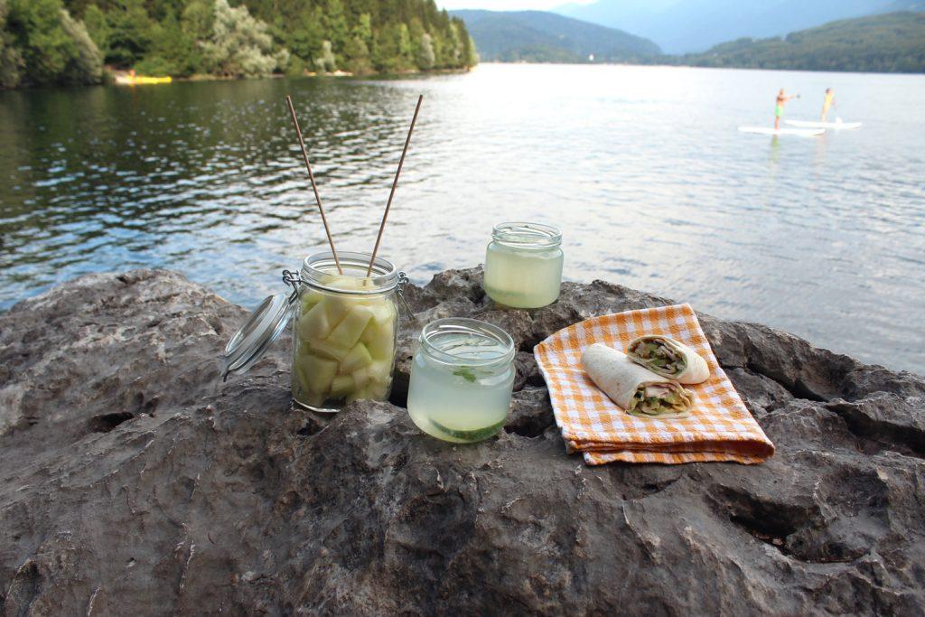 piknik brez odpadkov izlet v bohinj bohinjsko jezero