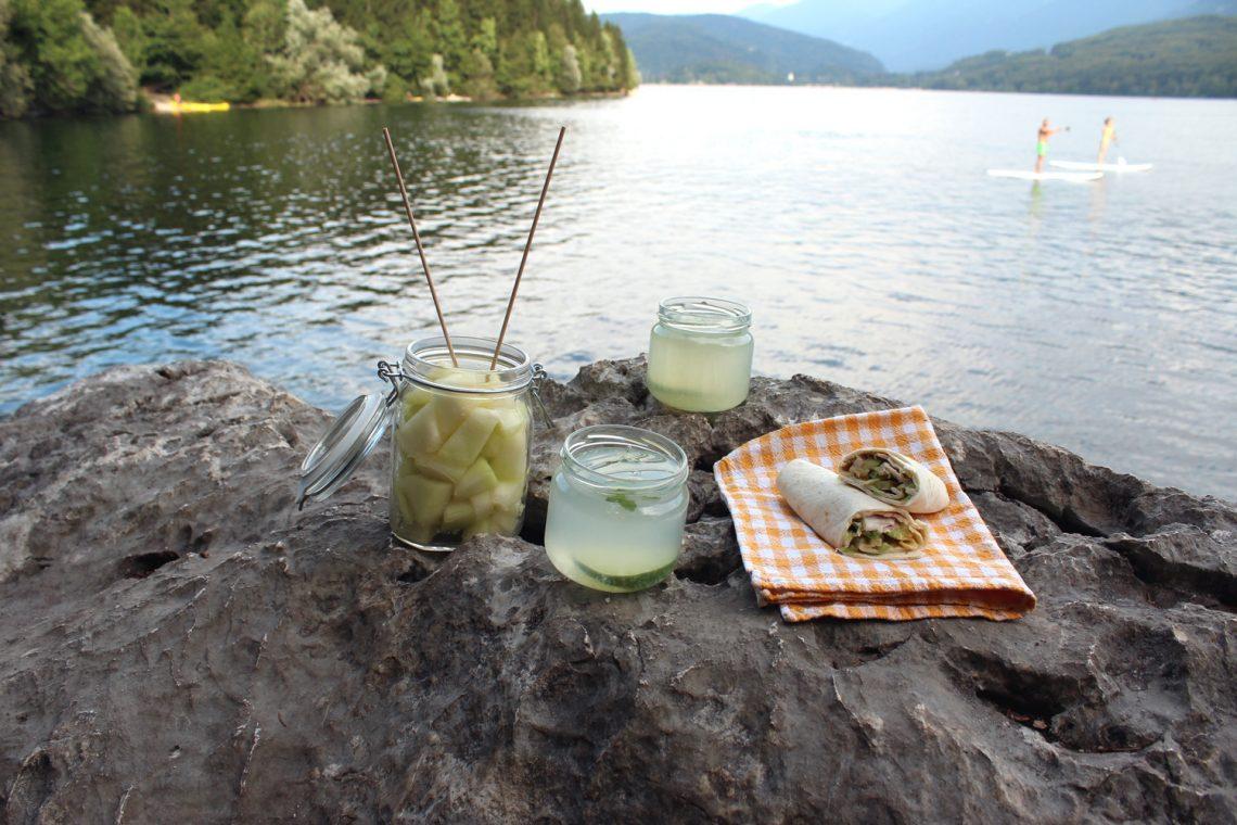 Izlet v Bohinj in piknik brez odpadkov