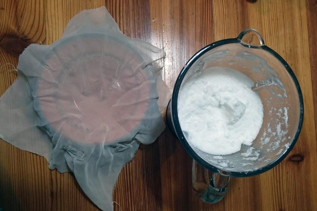 kokosovo mleko naredi doma recept za kokosovo smetano