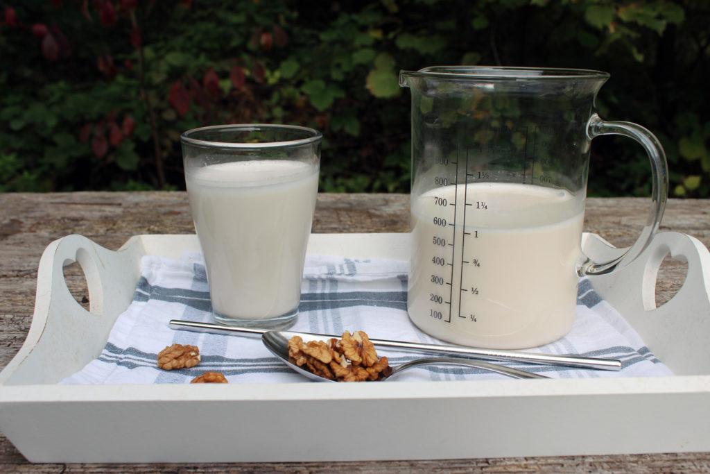 domače orehovo mleko recept kuhinja